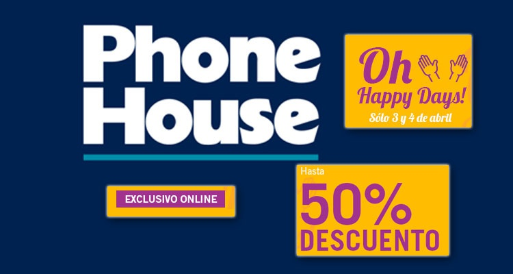 Oh Happy Days! de Phone House: ofertas en gadgets, televisores y más